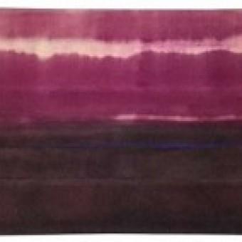 Rosso di sera. Cremisi orizzontale. Ecco il tramonto.